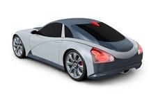 begreppsdesign för bil 3d stock illustrationer