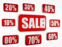 begreppsförsäljning Arkivfoton
