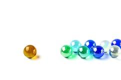 Begreppsframgång för Glass boll royaltyfria foton