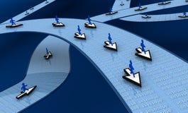 begreppsinternet vektor illustrationer