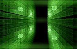 begreppsinternet för binär kod Royaltyfria Bilder