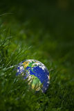 begreppsjordgreen Fotografering för Bildbyråer