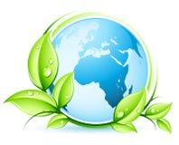begreppsjordgreen stock illustrationer