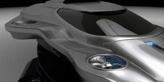 Begreppsluft bearbetar med maskin bilteknologi Royaltyfria Bilder