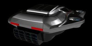 Begreppsluft bearbetar med maskin bilteknologi Royaltyfri Bild