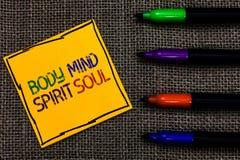 Begreppsmässig anda för ande för mening för kropp för handhandstilvisning Tillstånd för medvetenhet för terapi för jämvikt för af fotografering för bildbyråer