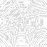 Begreppsmässig bakgrund för vektor med träd-cirklar Träd royaltyfri bild