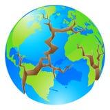 Världskrisbegrepp Arkivbilder