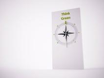 Begreppsmässig kompass 3D Royaltyfria Foton