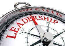 Begreppsmässig kompass för ledarskap Royaltyfri Fotografi