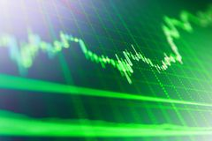 Begreppsmässig sikt av valutamarknadmarknaden royaltyfri illustrationer