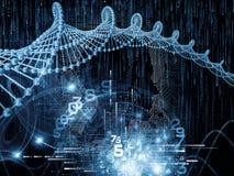 Begreppsmässig strömkretsintelligens Arkivbild