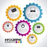 Begreppsmässig tråd-ram 3d illustration royaltyfri illustrationer