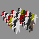 Begreppsmässigt avbilda av teamwork - 2. royaltyfri foto