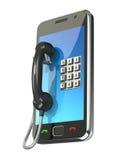 begreppsmobiltelefon Arkivbild