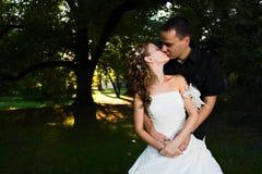begreppspar älskar bröllop Arkivfoto