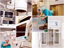 begreppssjukvårdläkarundersökning Arkivbild