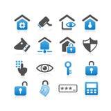 Begreppssymbol för hem- säkerhet vektor illustrationer