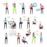 Begreppstecken som surfar internet, samkväm knyter kontakt och shoppar direktanslutet Royaltyfria Foton