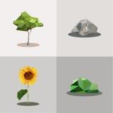 Begreppsvektor för ekologi Arkivfoto