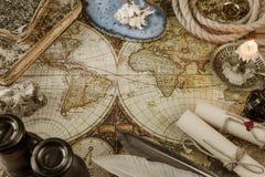 Begriffen in der antiken Art: Abenteuer Stockfoto