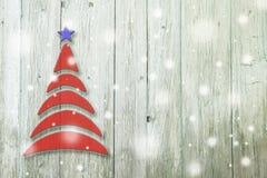 Begriffsbaum des neuen Jahres und des Weihnachten auf einem Hintergrund Lizenzfreie Stockfotos
