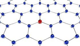 Begriffsdiagramm des Netzes Lizenzfreie Abbildung