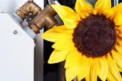 Begriffsfoto der sauberen Energie stockbilder