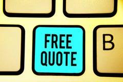 Begriffshandschrift, die freies Zitat zeigt Das Geschäftsfoto, das kurze Phrase A zur Schau stellt, die ist, hat normalerweise di stockfotografie