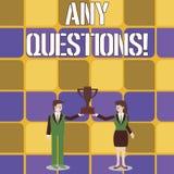 Begriffshandschrift, die irgendwelche Fragen zeigt Gesch?ftsfototext etwas, um das Sie sagen oder schreiben, um zu bitten a stock abbildung