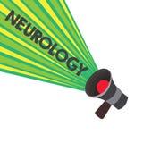 Begriffshandschrift, die Neurologie zeigt Geschäftsfototext Gebiet der Medizin beschäftigend Störungen vom nervösen stock abbildung
