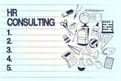 Begriffshandschrift, die Stunden-Beratung zeigt Geschäftsfototext Spezialistenrat und -dienstleistungen erbracht von einer Drittp lizenzfreie abbildung