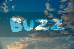 Begriffshandschrift, die Summen zeigt Geschäftsfoto sprudeln Präsentationssummen-Rauschen-Brummen Ring Sibilation Whir Alarm Beep Stockfotos