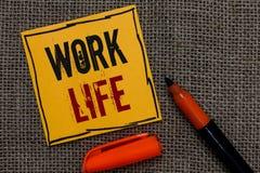 Begriffshandschriftvertretung Arbeits-Leben Geschäftsfoto, das eine tägliche Aufgabe zu ERN-Geld zur Schau stellt, Bedarf von irg stockfoto