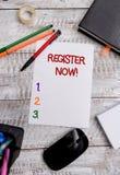 Begriffshandschriftvertretung Register jetzt Gesch?ftsfoto, das amtliche B?rsennotierung oder Rekordvertretung oder Sachen in zur stockfotos