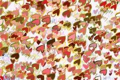 Begriffshintergrundliebe für Valentinstag, Feiern oder Jahrestag für Entwurfskatalog oder -beschaffenheit lizenzfreie abbildung