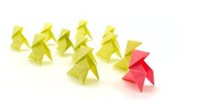 Begriffsillustration der Führung Stockfotos