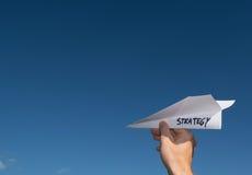 Begriffsillustration des Startens einer neuen Strategie Lizenzfreie Stockbilder