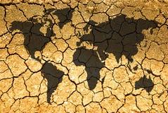 Begriffsszene, Klimawandel Lizenzfreie Stockfotos