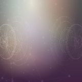 Begriffsvektor Designschablone Auszug Lizenzfreies Stockfoto