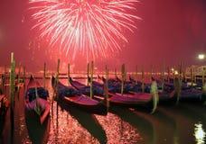 Begroeting in Venetië stock fotografie