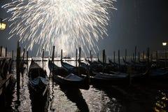 Begroeting in Venetië stock foto's