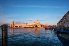 Begroetingskathedraal in Venetië, Italië Stock Afbeeldingen