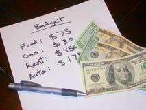 Begroting Royalty-vrije Stock Afbeelding