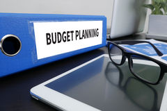 Begroting planning Stock Afbeelding