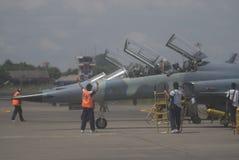 BEGROTING VAN DE DE VERHOGINGSdefensie VAN INDONESIË DE SNELSTE Royalty-vrije Stock Foto's
