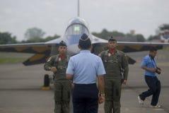 BEGROTING VAN DE DE VERHOGINGSdefensie VAN INDONESIË DE SNELSTE Royalty-vrije Stock Foto