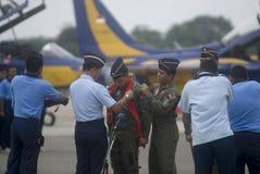 BEGROTING VAN DE DE VERHOGINGSdefensie VAN INDONESIË DE SNELSTE Royalty-vrije Stock Afbeeldingen