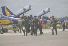 BEGROTING VAN DE DE VERHOGINGSdefensie VAN INDONESIË DE SNELSTE Stock Foto's