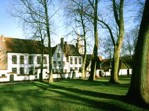 beguinage. Fotografia Stock